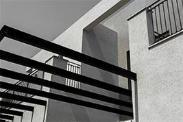 גרגמיש שימוש בקירות חיצוניים
