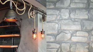 בטון מוטבע בקירות ורצפות
