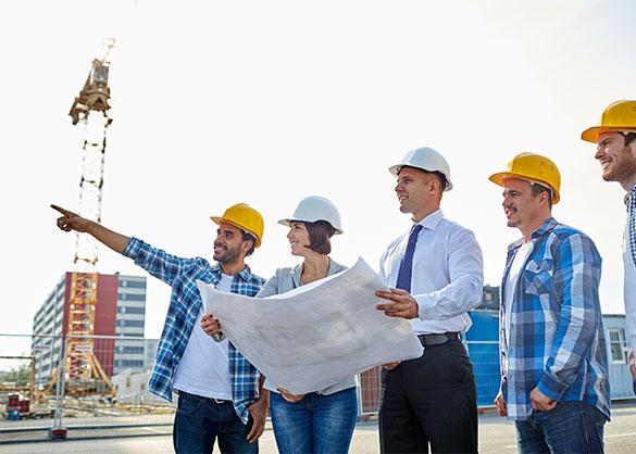 צוות בנייה